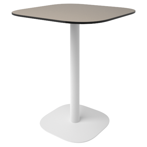 Стол FLAT (12 мм) квадратный